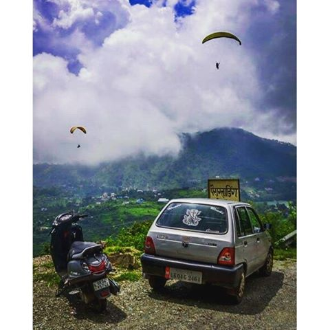 Gliding Experience In Indian Mountain