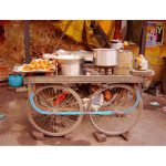 Road cafe of india