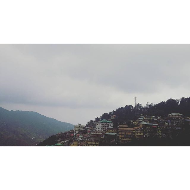 The most beautiful view of Dharmshala