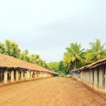 Tipical poultry farm of India