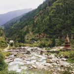 Himalayas manikaran of India