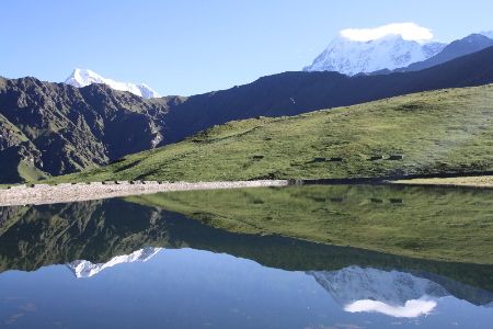 Roopkund Lake of India