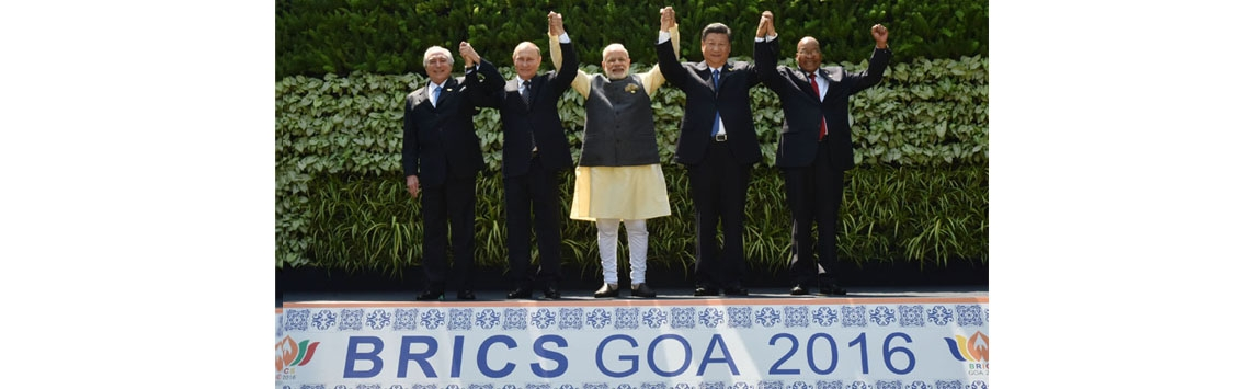 BRICS GOA Summit 2016