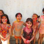 Colors of India and Childhood