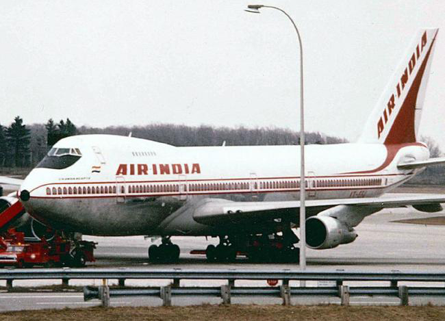 Delhi-Washington Air India