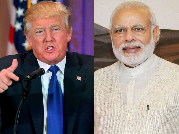 Donald Trump and Narendra Modi Travelbrandindia