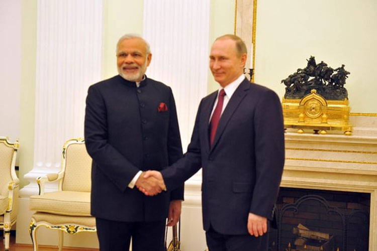 PM MODI TRAVEL VISIT TO RUSSIA