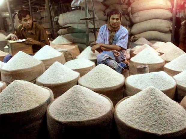 RICE EXPORTS RISE