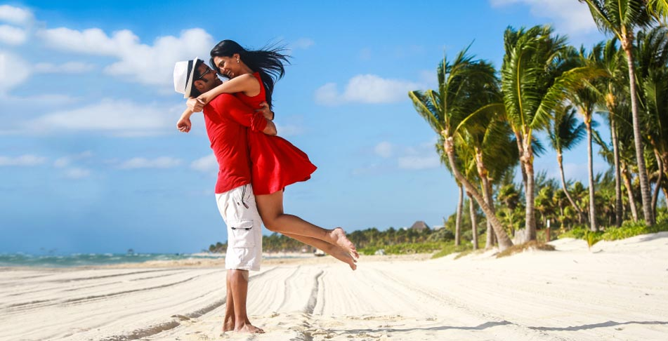 Travel honeymoon packages for weddeding couples