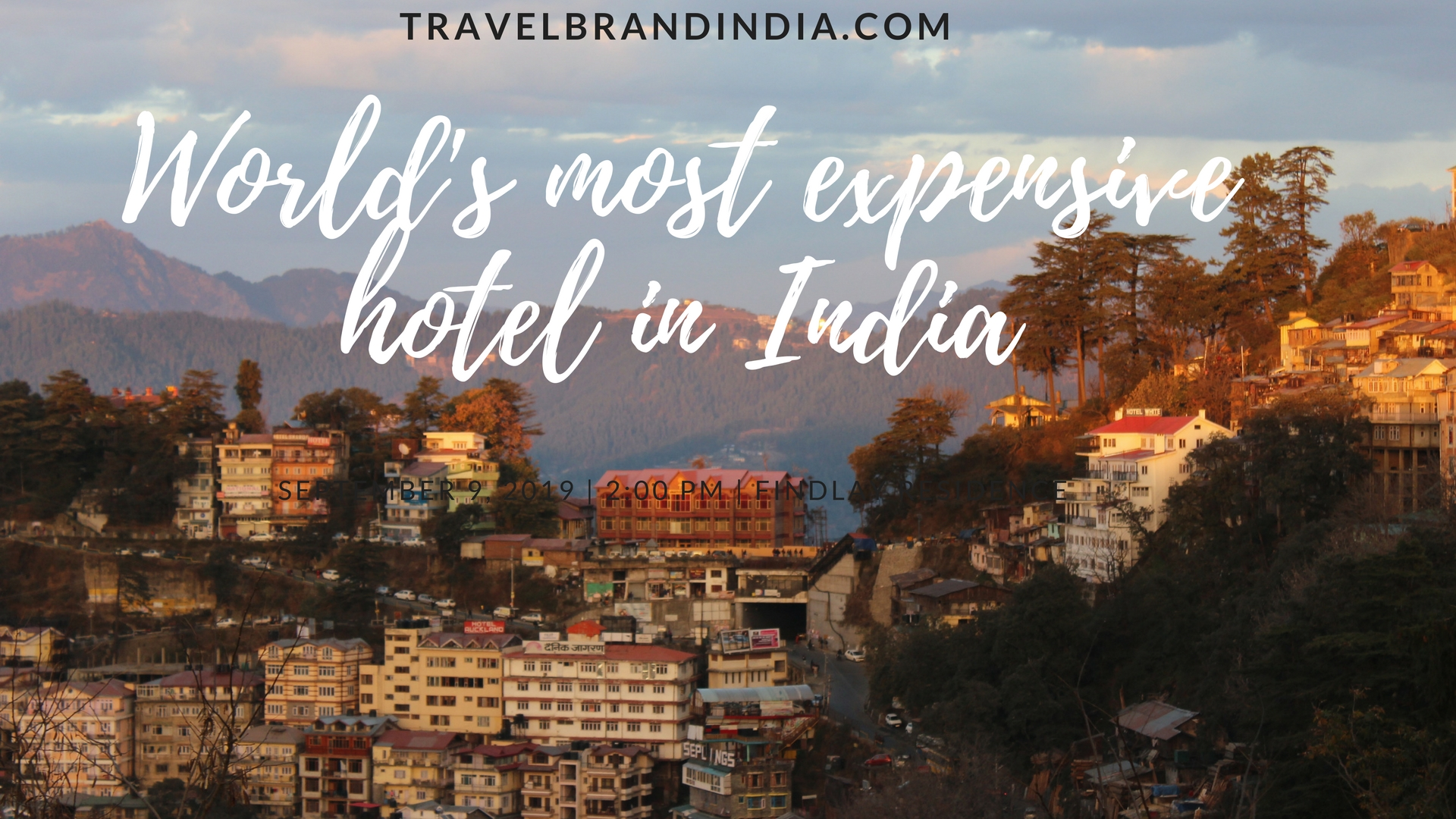 most expensive hotel in India