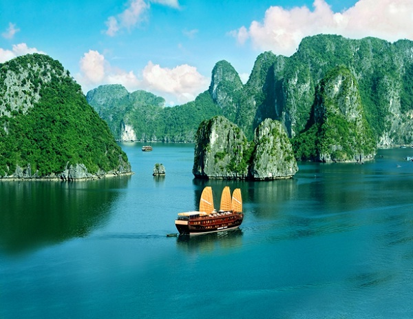 Halong Bay is Most popular destinations of India