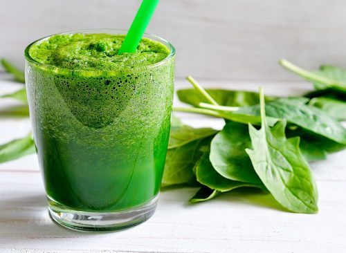 Juice of Palak for fit and flat belly weight loss health