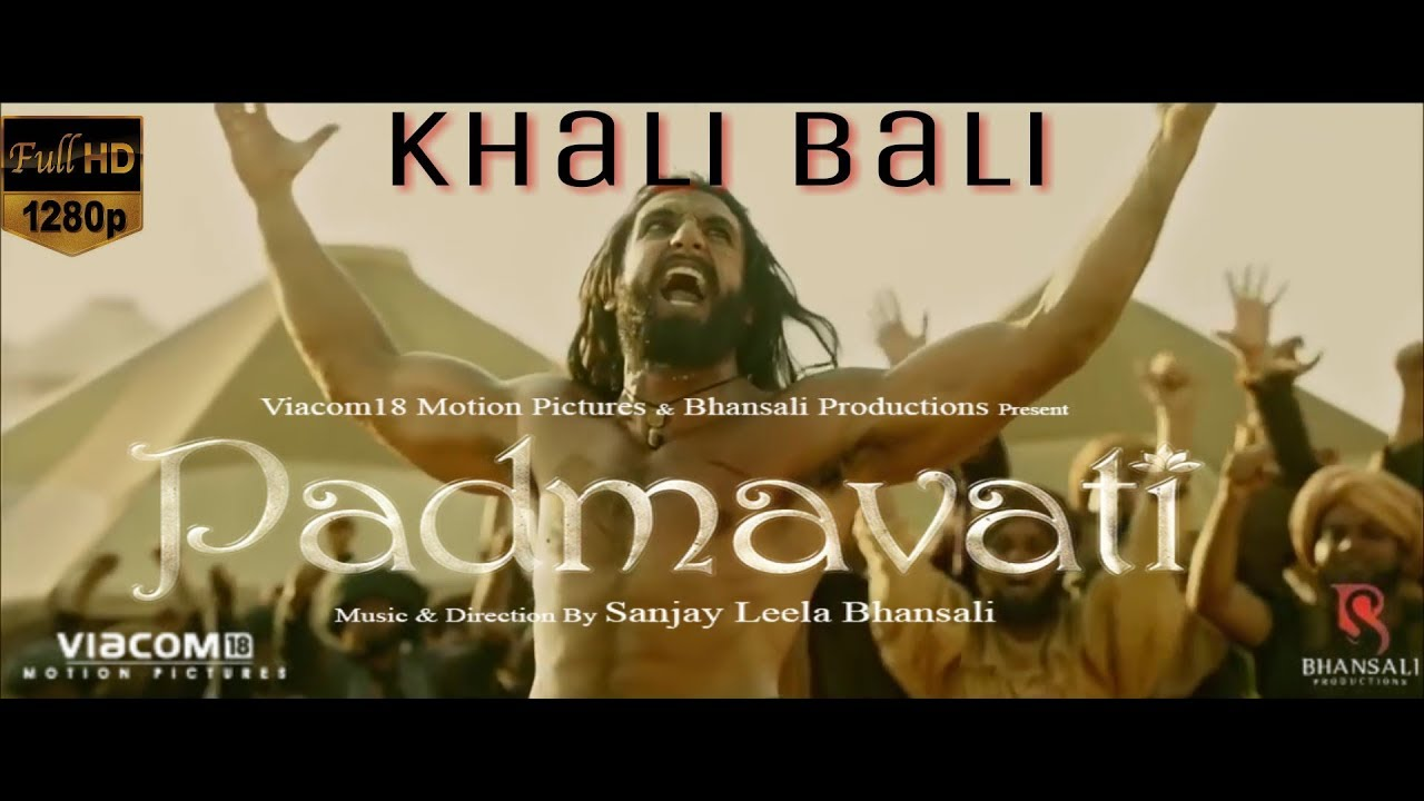 Khalibali padmavati mp3 song download movie Padmavati 2018