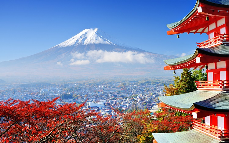 Most popular destinations of Japan Mount-Fuji-Top-Tourist-Destinations