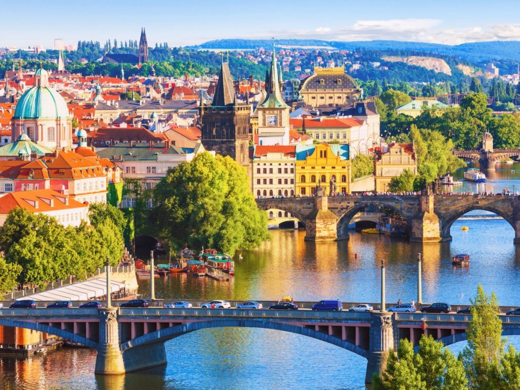 Most popular destinations of prague-czech-republic