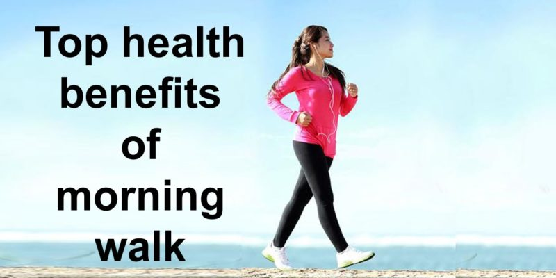health benefits of a morning walk