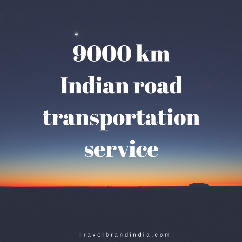 9000 km India road transportation service union budget