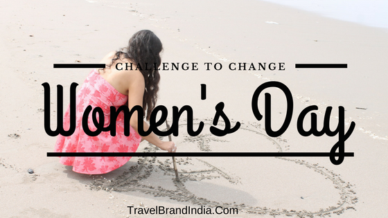 Women's Day challenge to change