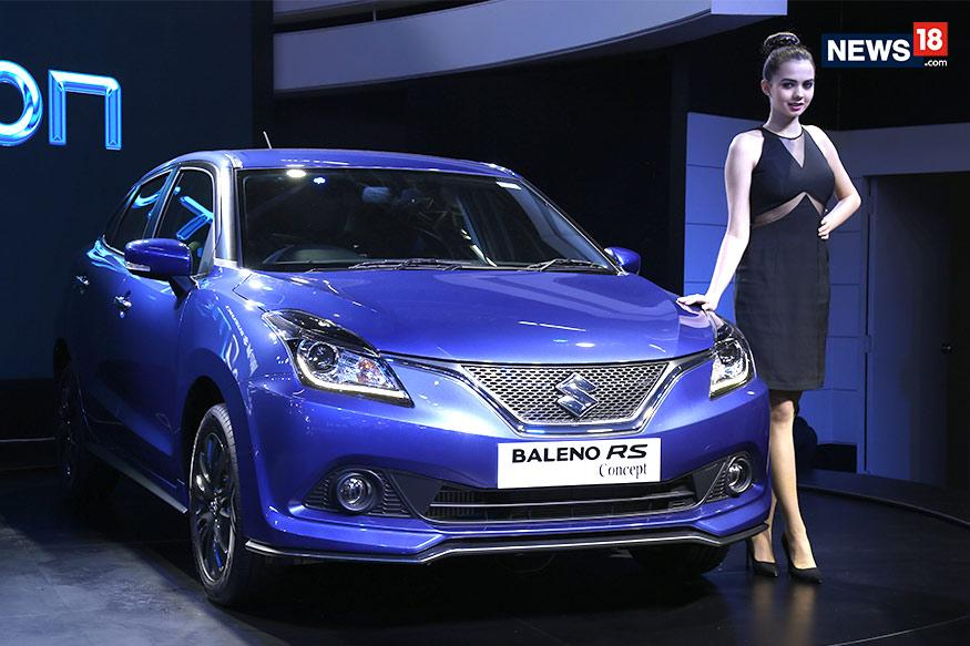 Maruti Suzuki Baleno travelling in India  by car