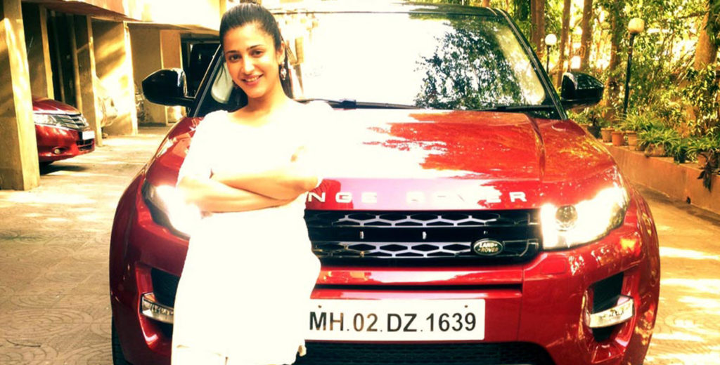 Maruti Suzuki with actress shruti hassan