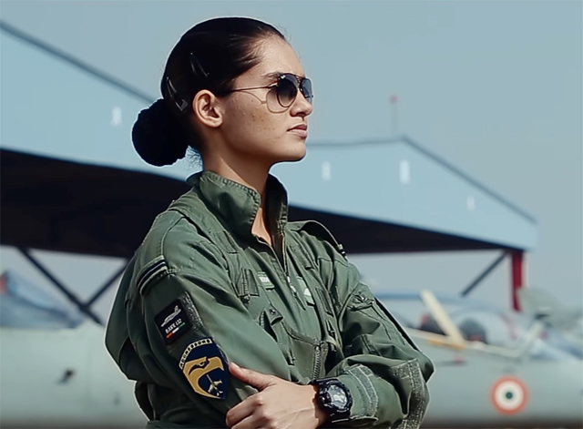 article on woman empowerment. air force girl army officer hot image