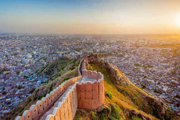 jaipur points of interest, images of fort view
