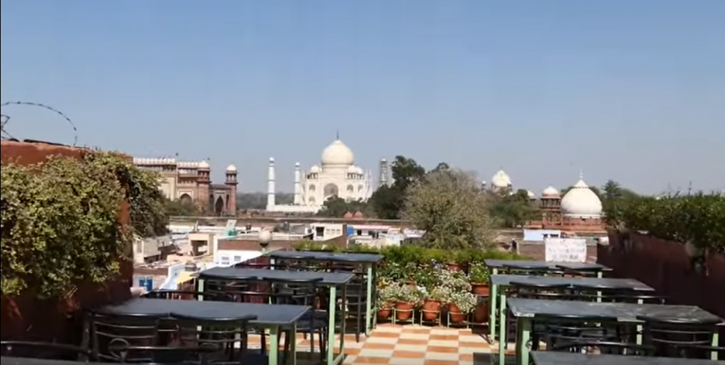 view of Agra to Delhi Visiting places of India tour packages online - TravelBrandIndia
