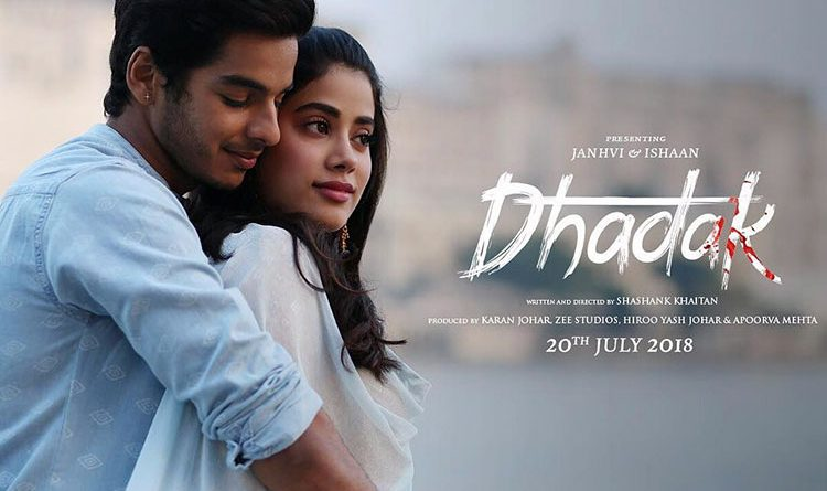 DHADAK Movie Songs, Cast, Trailer, Release Date, Jhanvi Kapoor poster image