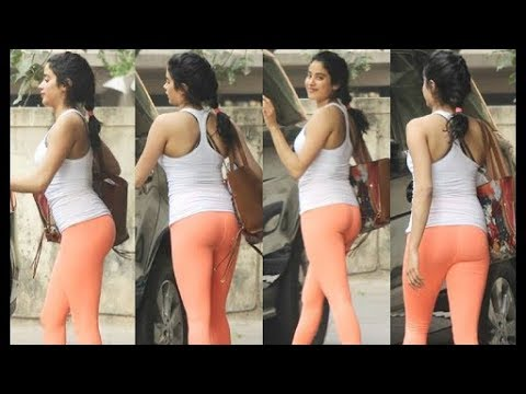 Jhanvi Kapoor Hot And Sexy Scenes