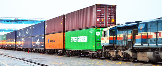 double Decker Freight trains of India