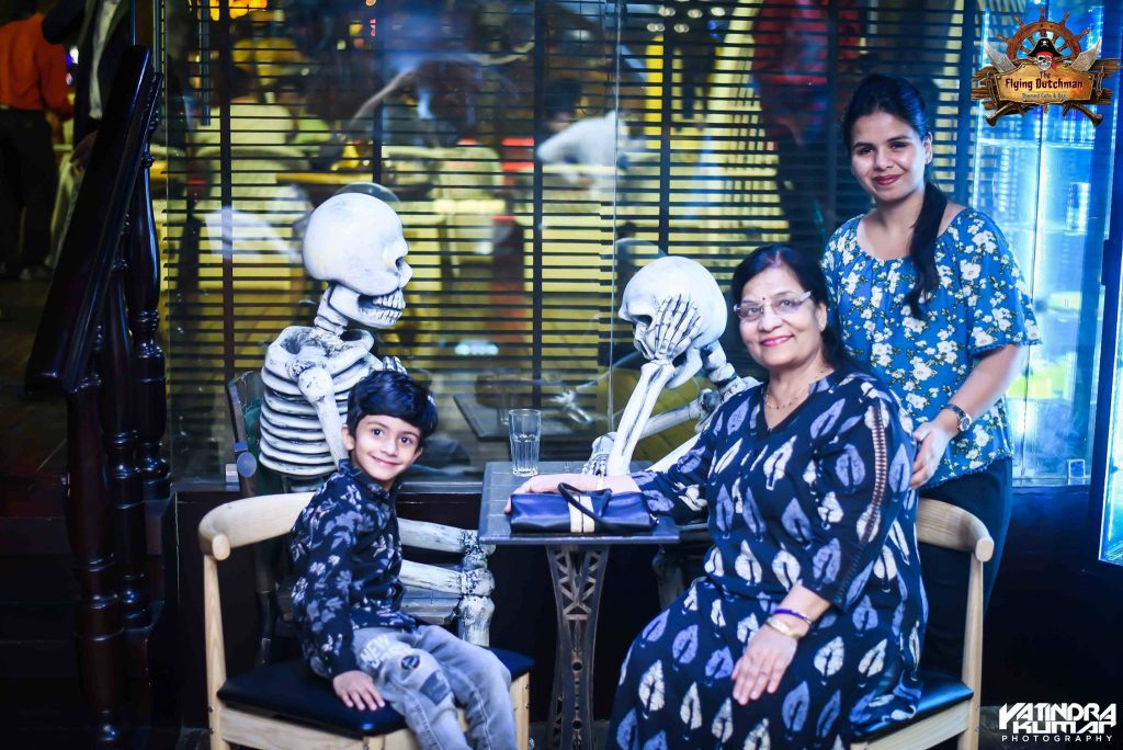 Family evnt in Themed Cafe & Bar - The Flying Dutchman Noida
