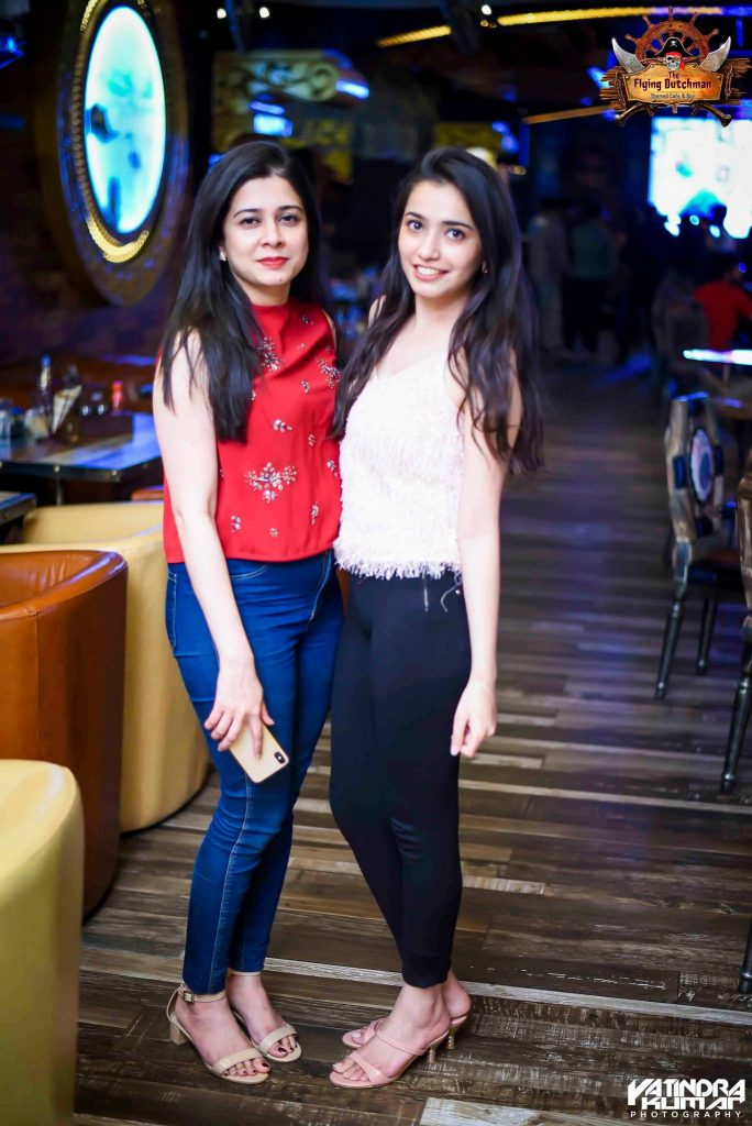 Hot Girls photos at The Flying Dutchman Noida