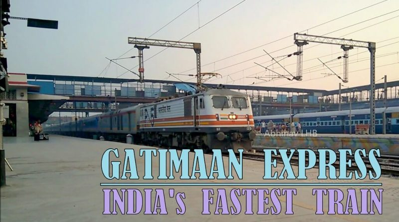 Which is the fastest train in India