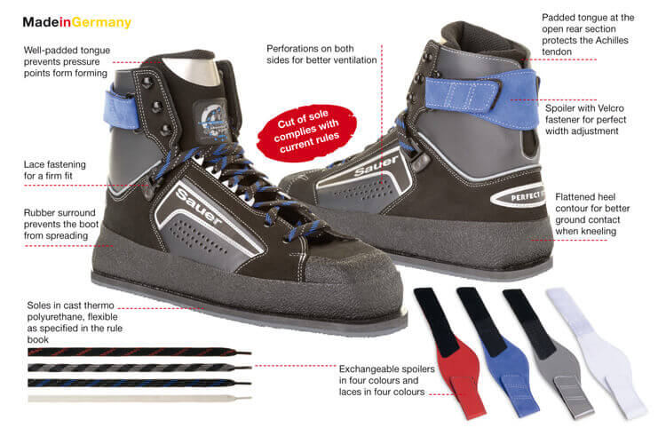Sauer Target Black Sports Shoes Image and Photos with info-graphics