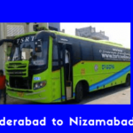 Hyderabad to Nizamabad Bus Service, Timings, Price