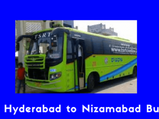 Hyderabad to Nizamabad Bus Image & photos