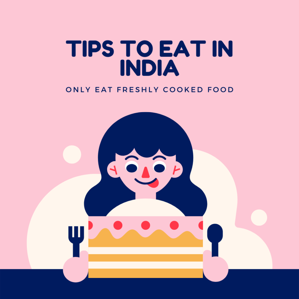 Tips to eat in India Image
