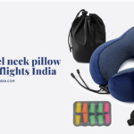Best travel neck pillow for long flights India 2020