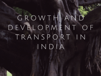 Growth and development of transport in India Image